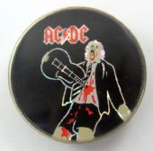 AC/DC - 'If You Want Blood' Prismatic Crystal Badge